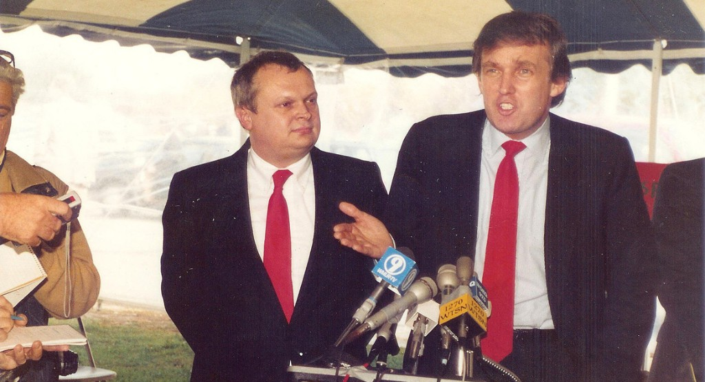 The True Story of Donald Trump's First Campaign Speech—in 1987