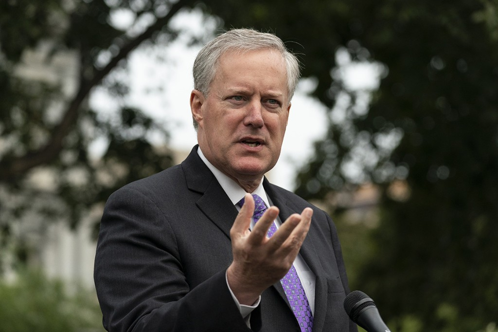 Meadows attacks Wray, pushing FBI to probe voter fraud