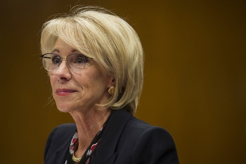 DeVos held in contempt for violating judge's order on student loans