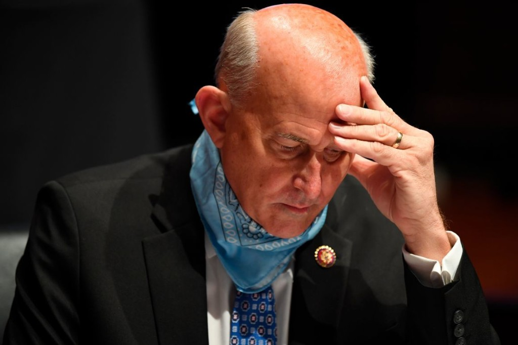 Louie Gohmert, who refused to wear a mask, tests positive for coronavirus