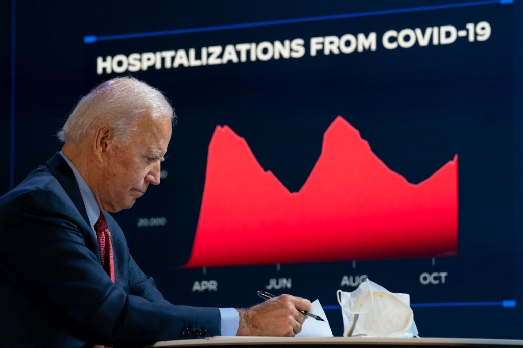 Joe Biden will inherit a raging pandemic. Here's what he plans to do next.