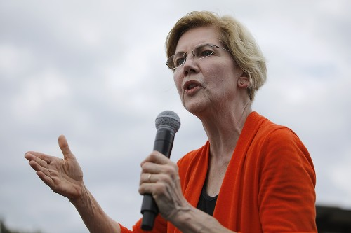 Warren pushes tribal plan amid new Trump attacks on Native American claims
