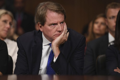 Schedule for McGahn legal fight adds to pressure on impeachment backers