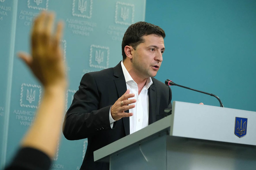 Zelensky says everyone in Ukraine 'is so tired' with impeachment questions