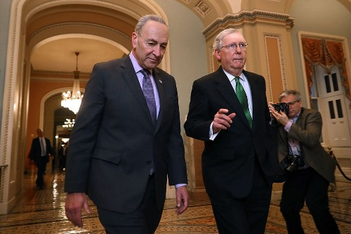 Schumer, McConnell trade blame as Senate declines