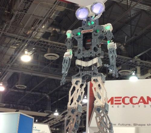 CES 2015: A Life-Size Erector Set Robot Kit