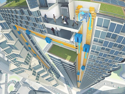 Magnetically Levitating Elevators Could Reshape Skylines
