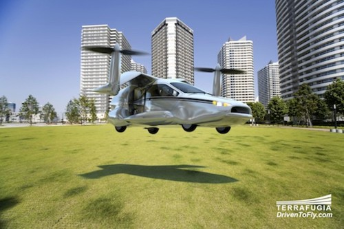 Could We Be Driving/Piloting This Flying Car In A Few Years?