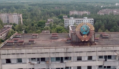 View The Ruins Of Chernobyl By Drone