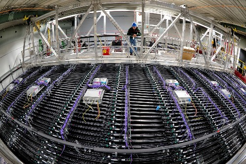 Fermilab's Neutrino Detector Sees Its First Particles