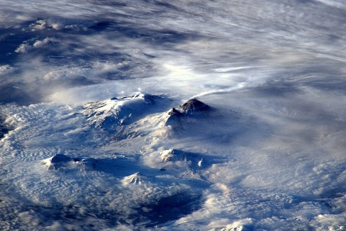 Astronaut Captures Gorgeous Image Of Volcanic Eruption In Russia