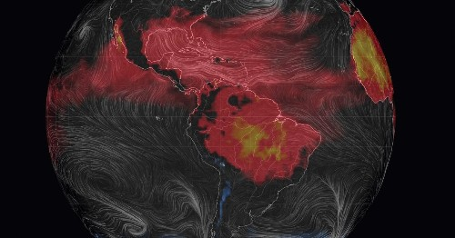 3-D Map Of Earth Shows Real-Time Weather