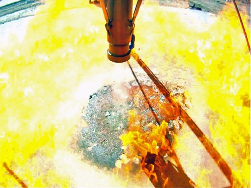 Video: Watch A Privately-Funded Moon Lander's Fiery Test