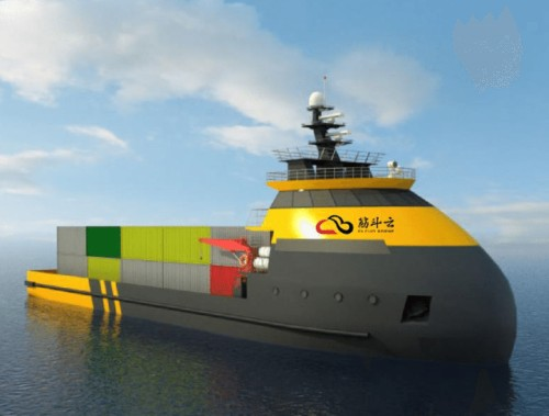 China is building the world's largest facility for robot ship research