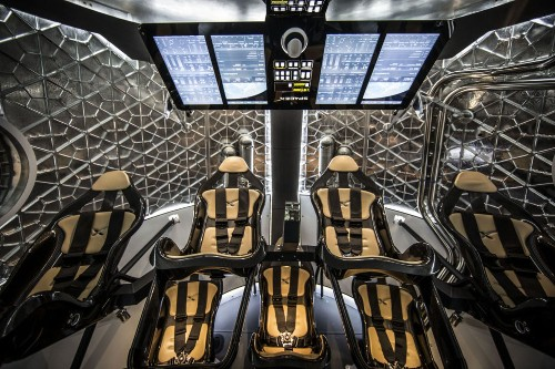 Inside The New Dragon Spacecraft