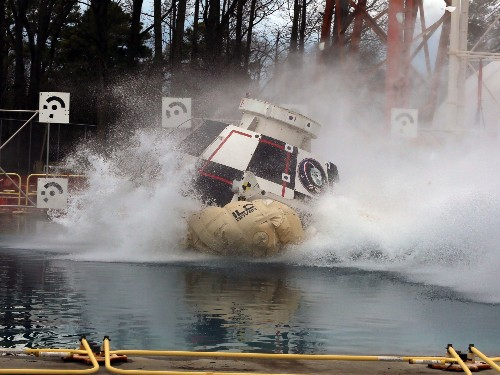 Watch The Splashdown Test Of Boeing's Astronaut Capsule