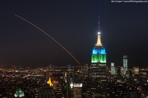 Big Pic: Look At NASA's LADEE Spacecraft Soaring Over NYC