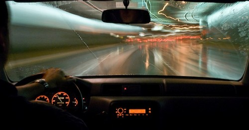 Intelligent Headlights Make Raindrops Disappear