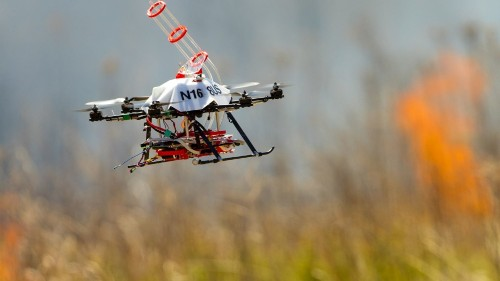 Nebraska Drone Starts Fires To Fight Fires