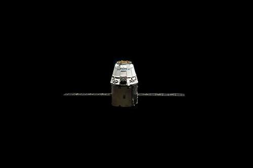 SpaceX Unveils First Manned Spacecraft
