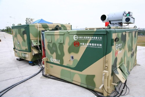 China's New Laser Zaps Drones