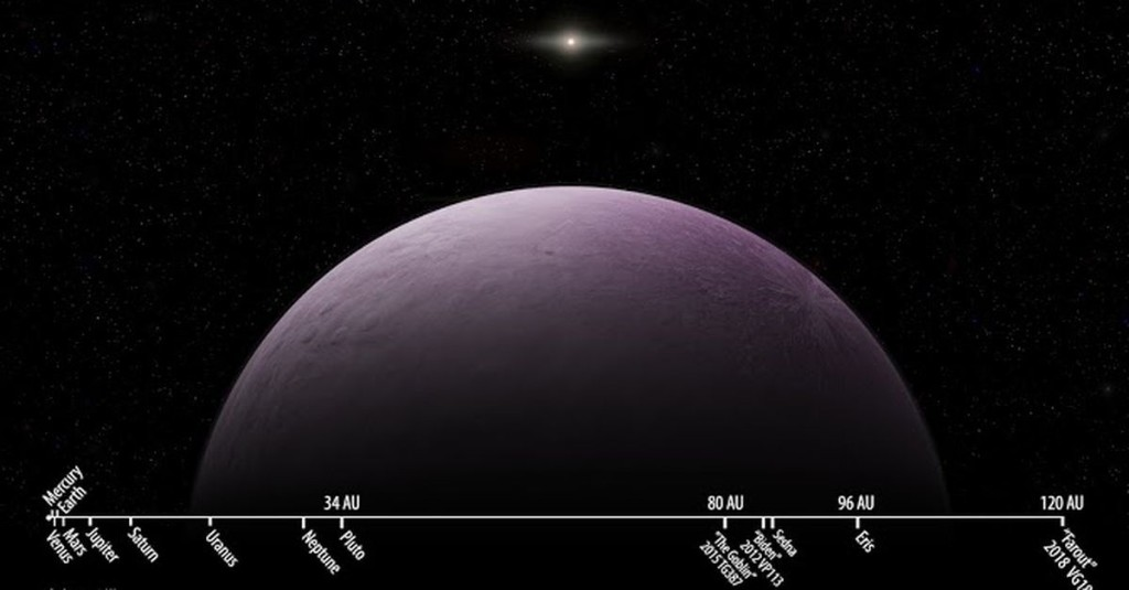 Meet Farout, the new most distant member of our solar system