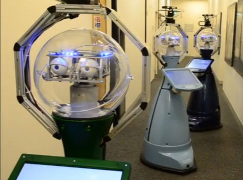 Robot Security Guard Will Watch Old People While They Sleep