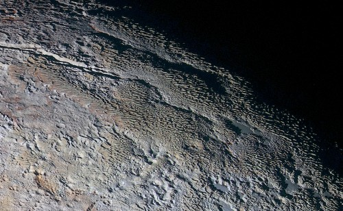Pluto's 'Dragon Scales' Revealed In Latest New Horizons Images