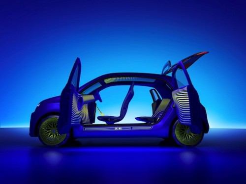 Renault's New Electric Concept Car Looks Like A Firefly On Acid