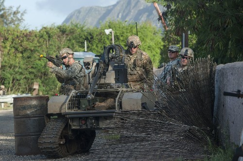 Army Tests War Robots In The Pacific
