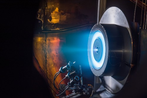 This Futuristic Ion Engine Could Carry Our Luggage To Mars
