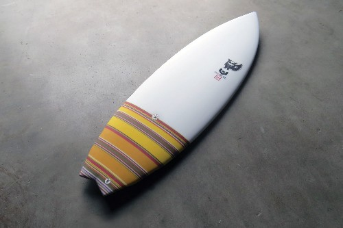 A Surfboard Made By A Rocket Scientist