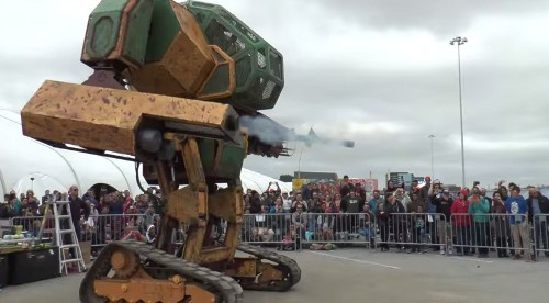 Americans Build Giant Robot, Challenge Japan To A Duel
