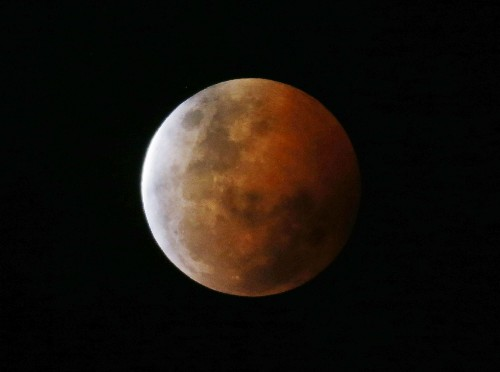 Tomorrow, See A Short-Lived Red Lunar Eclipse In The Wee Hours Of The Morning