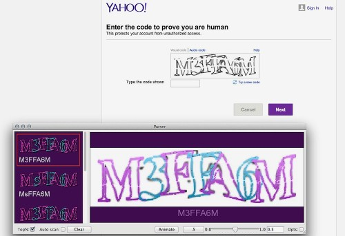 Software Learns To Crack CAPTCHAs
