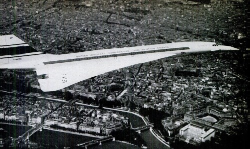 What It Was Like To Fly In The Concorde Supersonic Airplane