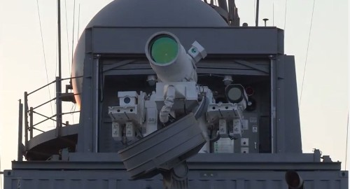 Watch The Navy Destroy A Drone With Lasers