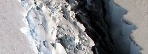 An iceberg the size of Delaware just broke off of Antarctica