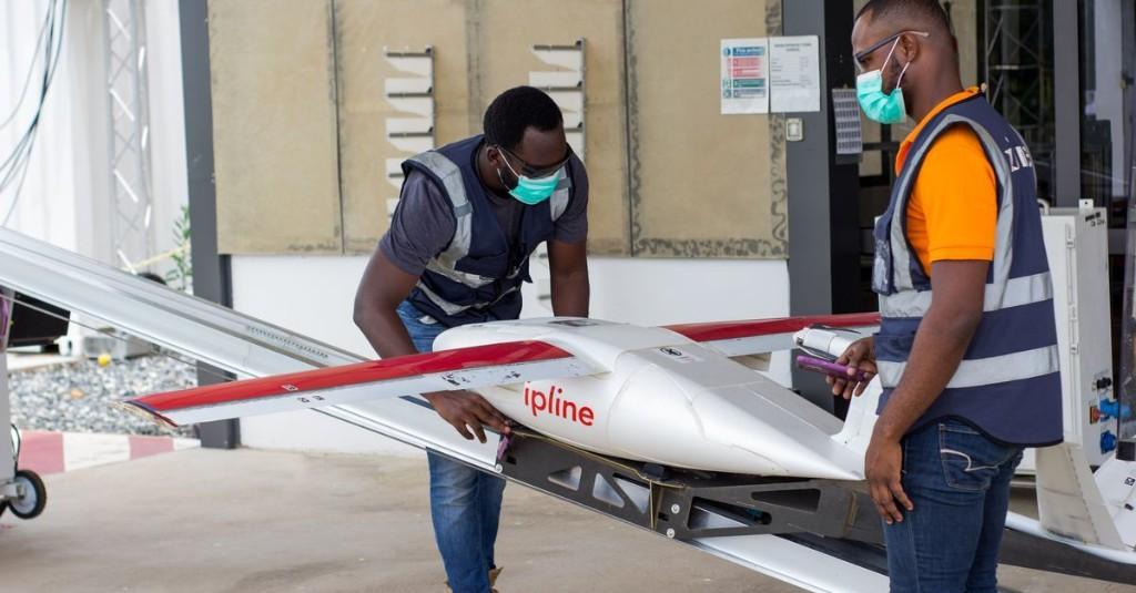 Speedy drones are helping Ghana test for the novel coronavirus