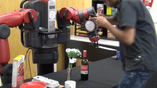 Robot Pretends To Almost (Not Really) Eviscerate Human With Knife, For Science
