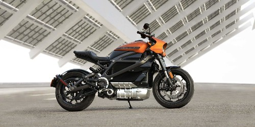 Here's a look at Harley-Davidson's LiveWire electric motorcycle