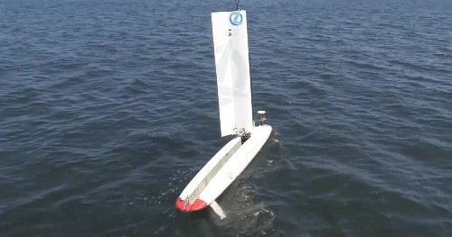 Watch a Navy robot submarine launch a drone