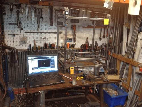 The Man Who's Making A Home 3-D Metal Printer