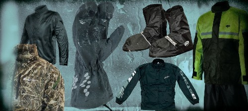 The best rain gear for motorcycle riders