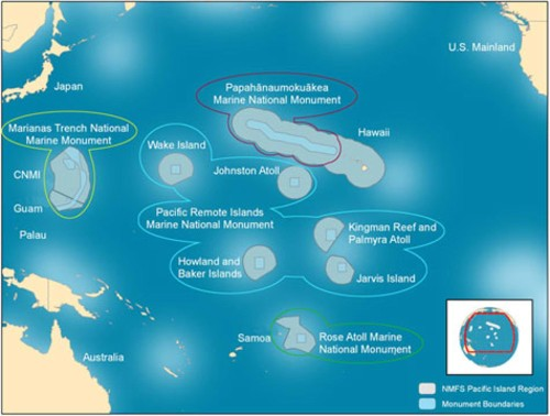 Obama Announces Expanded Marine Sanctuary, Efforts Against Fraudulent Seafood