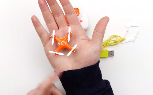 Look At This Tiny Drone [Video]