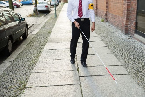 Cane Can Identify Faces For The Visually Impaired