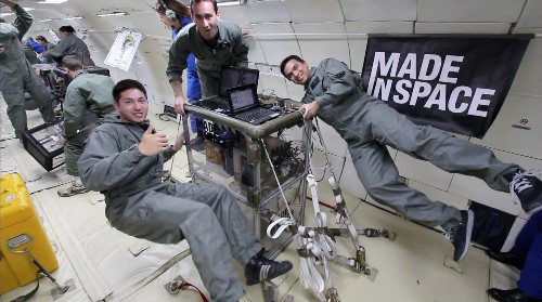 How To Build A 3-D Printer For Space