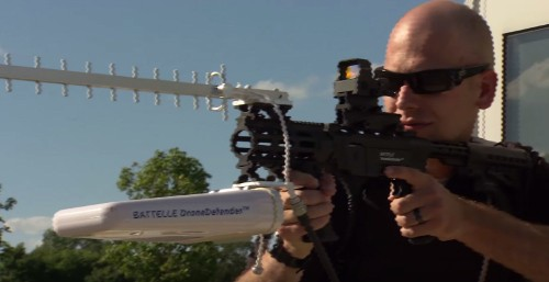 This Device Turns Any Gun Into An Anti-Drone Ray