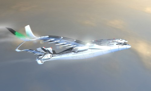 Is This Weird 3-Story Solar Powered Jet The Airliner Of The Future?
